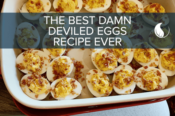 Doc Parsley's Best Paleo Deviled Eggs Recipe (with Bacon!)
