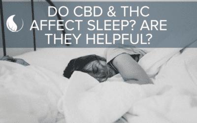 How do CBD and THC Affect Sleep?