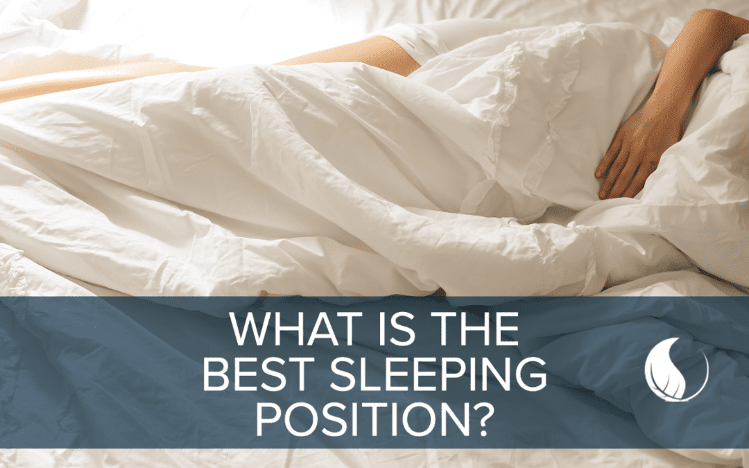 What is the best sleeping position for health?